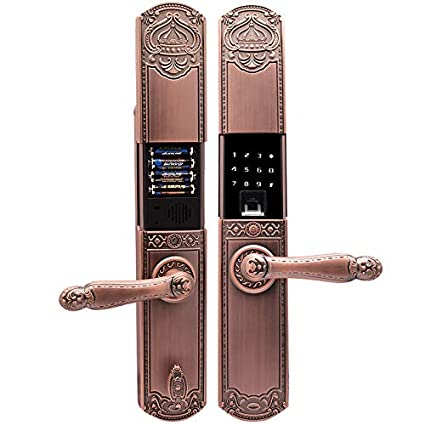 Huella Digital Inteligente Cerradura De La Puerta, Huellas Dactilares, Bluetooth Cerraduras Biométricas Huella Digital