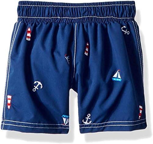 Toddler Boys' Swim Trunk Sailboat Navy 3T [並行輸入品]