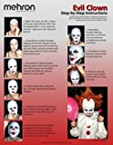Evil-Clown-Halloween-Makeup-Kit–Professional-Costume-Cosmetics-for-a-Creepy-IT-Inspired-Look–Dress-Up-Like-Pennywise-with-Pro-Quality-Paint-and-Brushes–by-Mehron