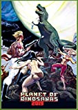 """Wall Calendar 2019 [12 pages 8""""x11""""] Dinosaur Horror Trash Action Vintage Movie Posters"""