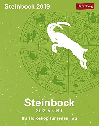 Steinbock - Kalender 2019: Ihr Horoskop für jeden Tag Kalender – 26. Juni 2018 Harenberg Robert Satorius Athesia Kalenderverlag GmbH 3840017475