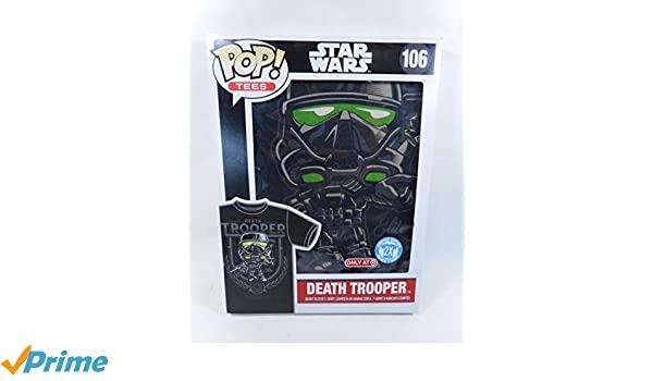 Amazon.com: Funko Pop! Tees Star Wars Death Trooper Short Sleeve T-Shirt, Black (2XL): Clothing