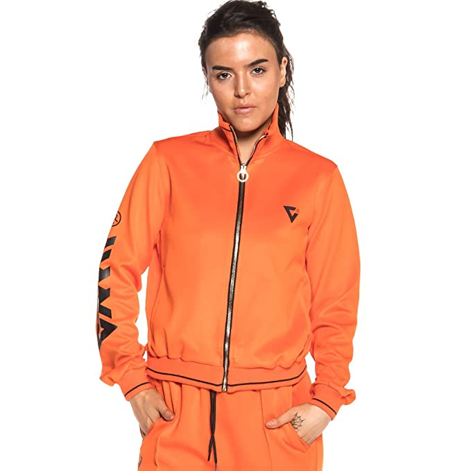 Grimey Chaqueta Smooth Ecstasy Girl FW18 Orange: Amazon.es: Ropa y accesorios