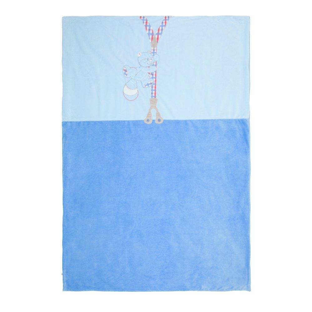 Noukies BB1390.09 W & H Decke aus Veloudoux, 100 x 140 cm