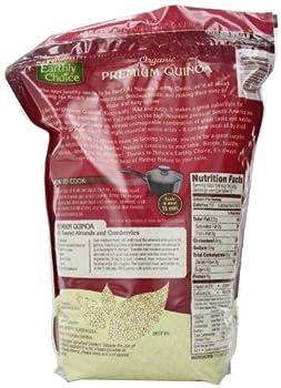 Nature's Earthly Choice: Organic Quinoa (1 X 4 Lbs) 3