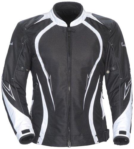 Cortech LRX Series 3 Women's Motorcycle Jacket - Black/White - X-Large