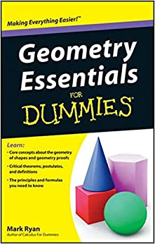 Geometry Essentials For Dummies Mark Ryan