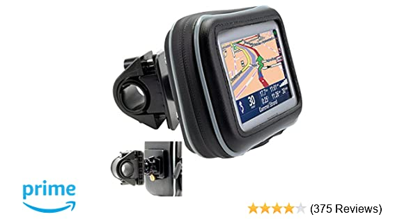 ChargerCity 5 Screen Water Resistant GPS Case w//Security Screw Heavy Duty Bike Motorcycle Handle Bar Mount for Garmin Drive Smart Assist Nuvi 58 57 56 55 52 51 50 2589 2597 LM LMT Tomtom GO Via GPS