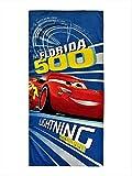 Pixar Cars 3 'Lightning Race Florida 500' Beach Towel