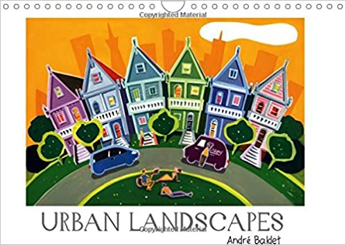 Book Urban Landscapes 2017: Colorful Paintings of Towns All Around the World (Calvendo Places)