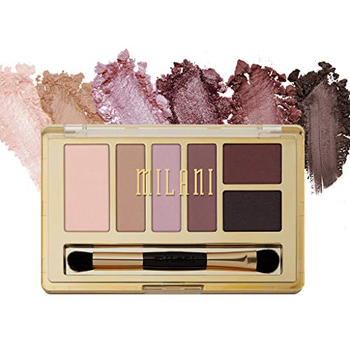 Milani Everyday Eyes Eyeshadow Palette - Romantic Mattes (0.21 Ounce) 6 Cruelty-Free Matte or Metallic Eyeshadow Colors to Contour  Highlight