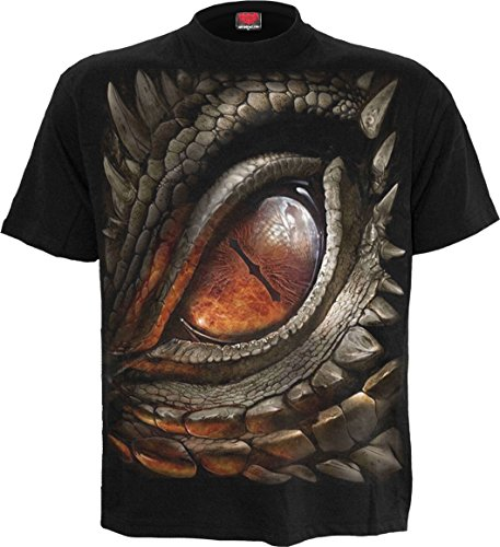 Dragon Eye - T-Shirt Black