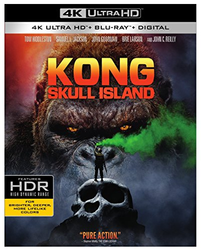 4K Blu-ray : Kong: Skull Island (With Blu-Ray, 4K Mastering, Ultraviolet Digital Copy, Digitally Mastered in HD, 2 Pack)
