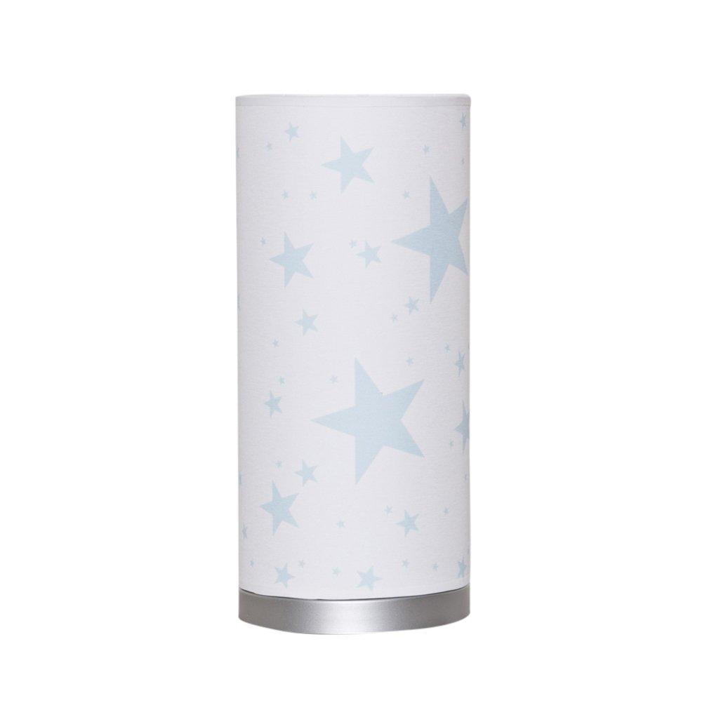 Luminaire enfant/lampe de chevet Blanc avec Etoile Gris Bacon and Apples 2NB-M-AZ