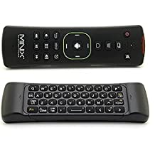 MINIX A2 Lite 2.4G Air Fly Mouse Mini Wireless Keyboard Mouse Remote Control For HTPC /Amazon Fire TV/Samsung TV/MINIX X8 X8H Plus,Minix NEO U1 /Smart Android tv box PC Media player