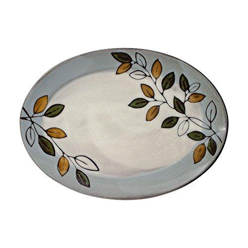 (Pfaltzgraff Rustic Leaves Oval Platter)