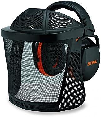 Stihl 0000 884 0566 cara rejilla de protección de protección auditiva corta, nailon, con protección frente