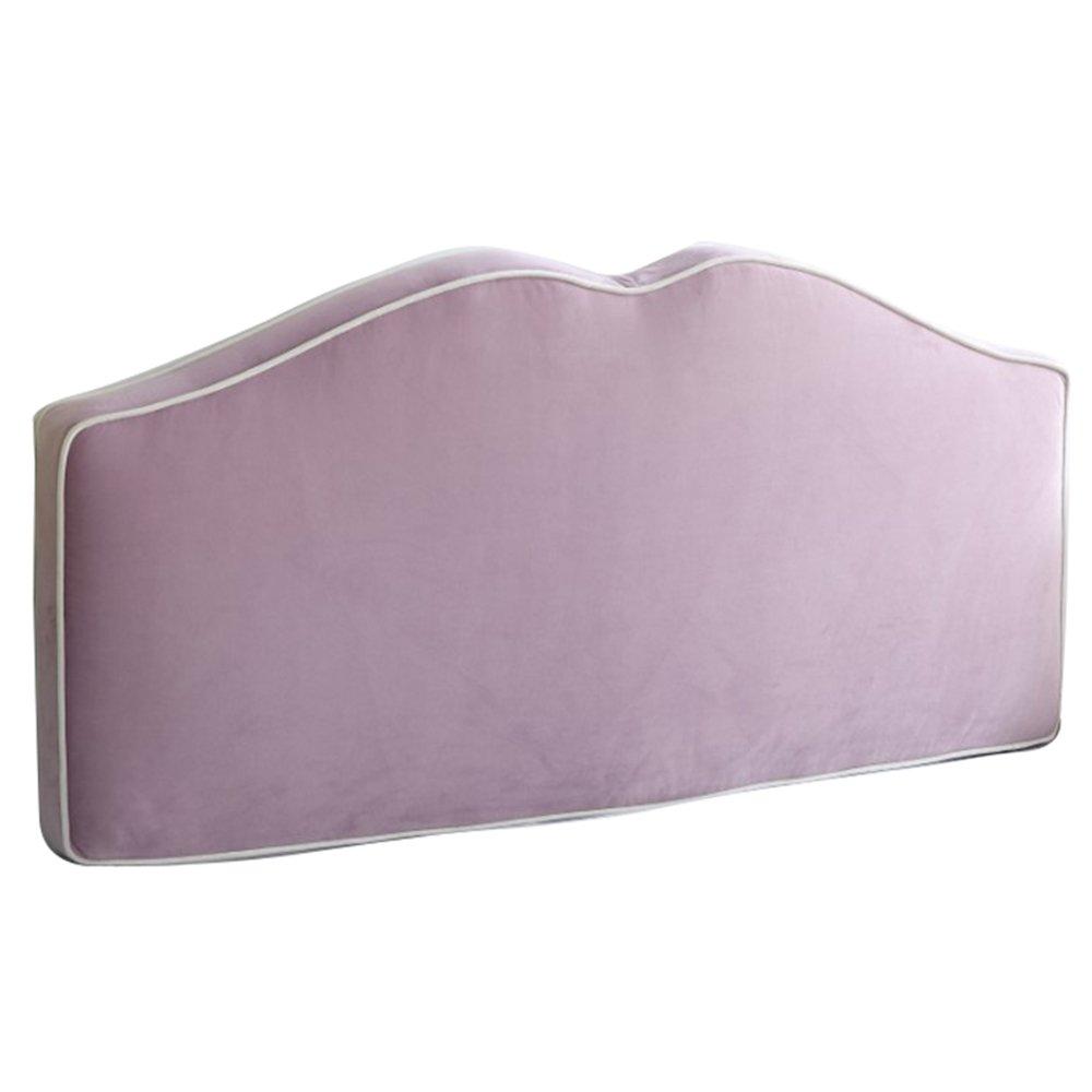 Letto principessa per bambini morbido pacchetto indietro senza testiera letto cuscino doppio cuscino in legno massello sfoderabile e lavabile in 6 colori, 3 taglie disponibili FIOFE