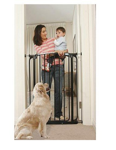 Cheap Dreambaby Chelsea Extra Tall 40″ Auto Close Baby Pet Security Safety Gate with Extensions- Black