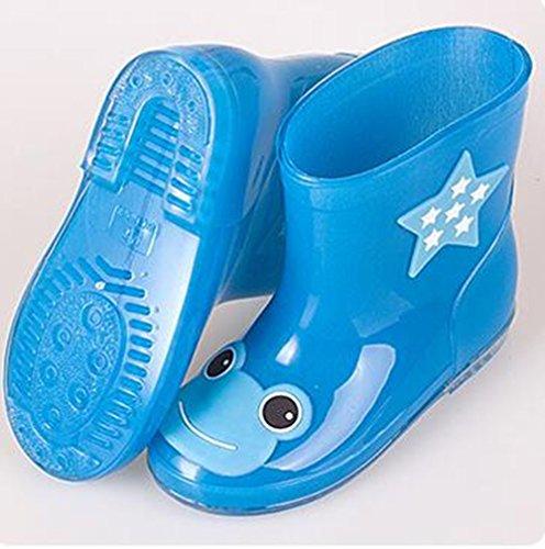 26 rot Jungen Regen Kinder Für Stiefel Schuhe Abnehmbarem Kinder Blau Stiefel Kinder Wasserdichte Schuh Gebürstetem Rutschfeste Rose Regen Mädchen Stillshine Futter Schnee Heels Mit Low Gummikarikatur qwSCxBBt
