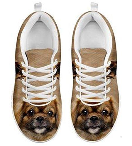 Casual Dog Cute Tibetan Brand Sneakers Spaniel 5 Men's Print 4Ydtqq7W