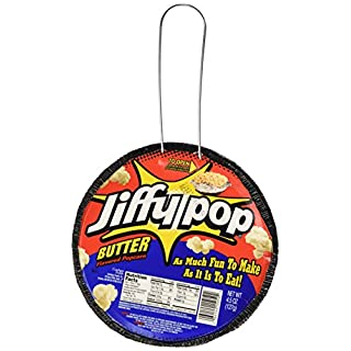 Jiffy Pop Butter Popcorn, 4.5 oz (Pack of 3)