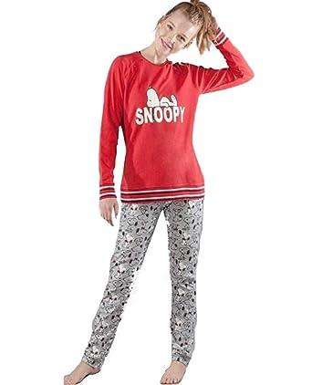design distinctif courir chaussures choisir l'original Snoopy Women's Pyjama Set Multicolour red and Grey: Amazon ...