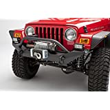 BODY ARMOR TJ19531 Steel Front Winch Bumper For Jeep Wrangler Yj And TJ