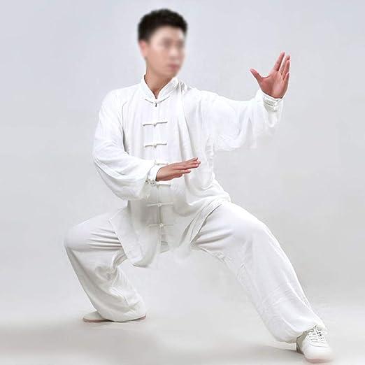 WERTYUH Ropa De Tai Chi Hombre,Chino Clásico Shaolin Kungfu Wing ...