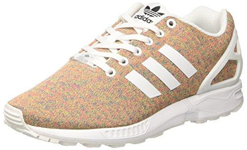 adidas Zx Flux, Zapatillas para Hombre, Naranja Blanco (Footwear White/footwear White/footwear White)