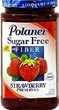 Polaner Sugar Free Strawberry Preserve, 13.5 Ounce - 12 per case.