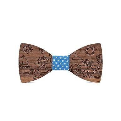 Wild Joker Escultura de corbata de madera, diseño de playa de ...