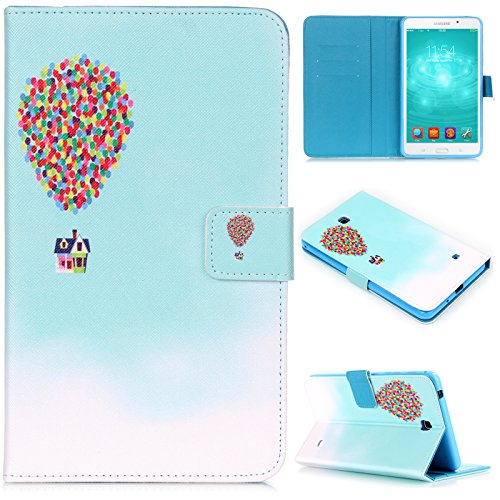 Tab 4 7.0 inch Case, Dteck(TM) Cartoon Design Flip Wallet Stand Case with Card/Money Slots Magnetic Closure Protect…