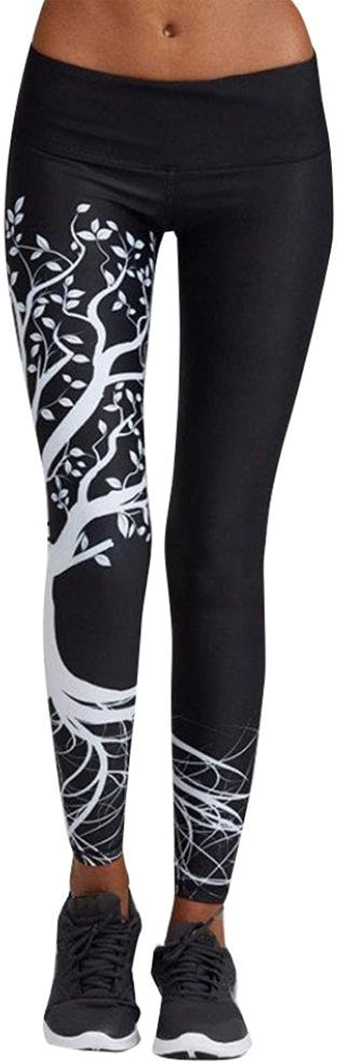Women Leggings, Gillberry Women Sports Trousers Athletic Gym Workout Fitness Yoga Leggings Pants for Women