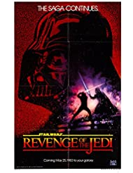 "Star Wars: Episode VI: Revenge of the Jedi 1983 Authentic 27"" x 41"" Original Movie Poster Fine, Very Fine Harrison Ford Fantasy U.S. One Sheet Advance"