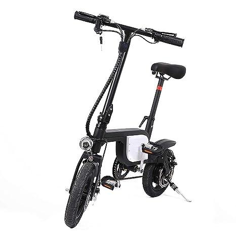 Xiuxiu Bicicleta eléctrica de 12 Pulgadas, Plegables, Bicicletas eléctricas, Ruedas Plegables, Bicicleta