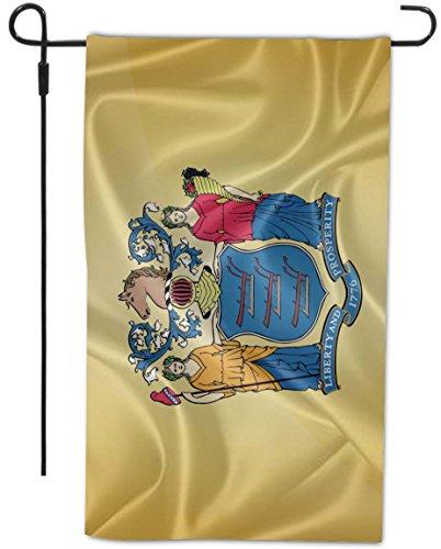 Rikki Knight New Jersey State Flag Design Decorative Hous...