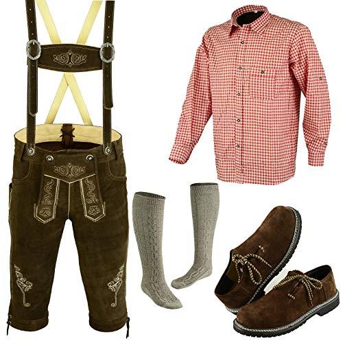 German Bavarian Oktoberfest Trachten Lederhosen Complete Outfit -