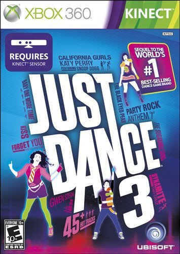 Just Dance 3 (360 Xbox Dance Kinect Central 3)