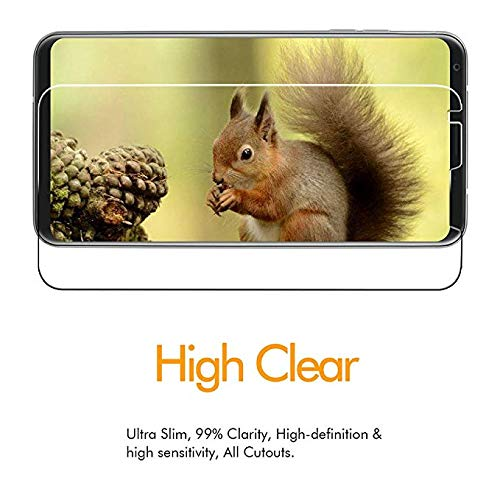 hairbowsales Screen Protectors Clear Compatible with Phone Screen Protectors.Black.-02.25 137