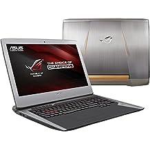 "ASUS ROG G752 Gaming Notebook PC (i7-6700HQ, 32GB RAM, 128GB M.2 NVME SSD + 1TB HDD, NVIDIA Geforce GTX 1060 6GB, 17.3""Full HD IPS, Windows 10) 2016 Newest Republic of Gamers Laptop Computer"