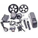 Bafang Mid Motor Kit/latest Design Mid Motor Kit with Color Display with 17.5AH Samsung Cells Battery 48V 750W