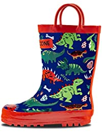 Rain Boots with Easy-On Handles in Fun Patterns for...