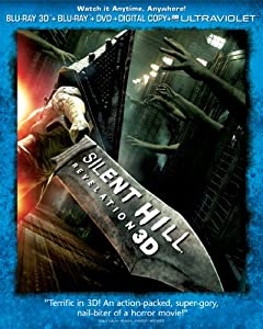 Cover Image for 'Silent Hill: Revelation 3D (Three-Disc Combo Pack: Blu-ray 3D + Blu-ray + DVD + Digital Copy + UltraViolet)'