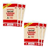 Joseph's Lavash Bread Value 6-Pack, Flax Oat Bran