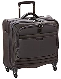 """Delsey Helium Pilot 3.0 Luggage Grey 17"""" Trolley Tote"""