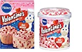 Valentine's Funfetti Cake Mix plus Funfetti Vanilla Frosting Bundle