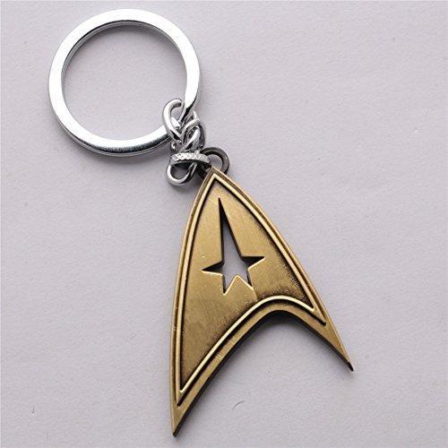 Star Trek Alloy Key Chain Key Ring Pendant (#2)
