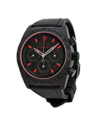 Tudor Fastrider Blackshield Chronograph Black Rubber Mens Watch 42000CR-BKRS