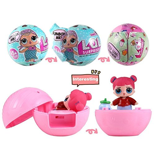 L OL Lil Outrageous 7 Layers Surprise Ball Series 1 Doll Blind Mystery Ball Toys